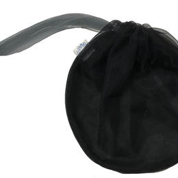 巾着regular (black)