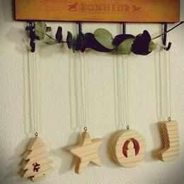 ⭐︎参考商品⭐︎【Katakichi】杉の香りの木製クリスマスオーナメント