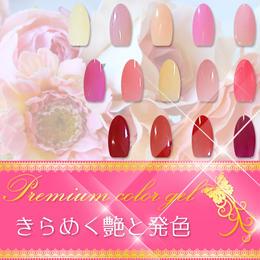 ネイル カラージェル◆8g入り プレミアムソークオフ レッド・ピンク系◆NC001