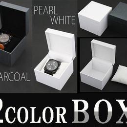 ラッピング◆腕時計 プレゼント用 専用箱ボックス 2カラー◆AC-W-BOX4
