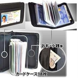 短財布 スキミング防止 セキュリティウォレット カード入れ 旅行◆K12354