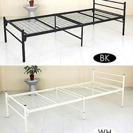 寝具 ベッド◆パイプ シングルベッド◆ml90