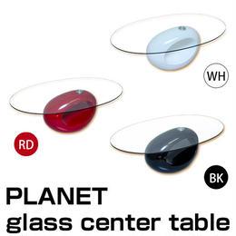 家具 ローテーブル◆PLANET ガラス センターテーブル◆a3012