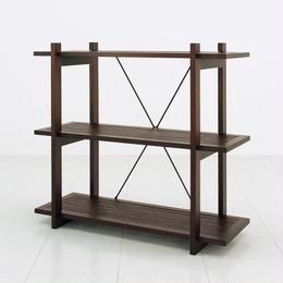 家具 収納 本棚 ラック◆アジアンバンブー シェルフ3段◆bl0973