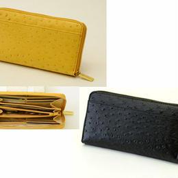 長財布 ウォレット◆H・L アッシュエル オースト型押し ラウンド財布◆K11680