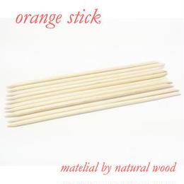 ネイルケア◆最高品質のオレンジウッドスティック/ロングタイプ●2本パック◆wood0002
