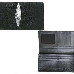 長財布 ウォレット◆エイのレザー ハードボイルドな長財布◆K11999