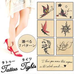 インナーウェア◆タトゥー タイツ Tattoo  ストッキング 20デニール◆fas-330