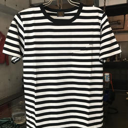 RCS CLOTHING S/S BORDER POCKET TEE