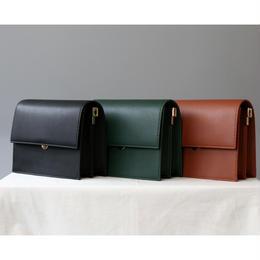 【牛皮】スタイリッシュ2wayミニショルダーバッグ 全3色