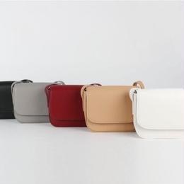 【牛皮】カラーショルダーバッグ 全5色