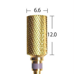 【URAWA C1701G】ラージバレルカーバイドバー(ゴールド) ファイン
