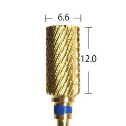 【URAWA C1702G】ラージバレルカーバイドバー(ゴールド) ミディアム