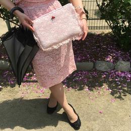Lacy lingerie bag