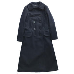 10 BUTTON LONG PEACOAT