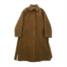 NAPPED WOOL BAL COLLAR COAT