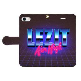 LEZIT SPACE WORLD iPhone Case
