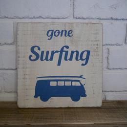 wood board A 〜Gone Surfing〜