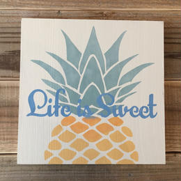 wood board A 〜pineapple〜