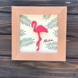 wood board F〜 flamingo〜