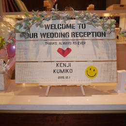 オーダー品~welcomeboard K様~