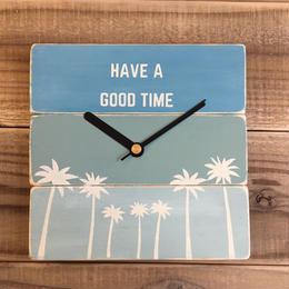 wood clock 〜have a good time 2〜