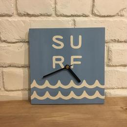 wood clock〜 surf〜