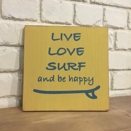 wood board A 〜 live love surf 1〜