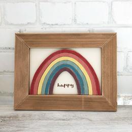 wood board F〜rainbow6〜