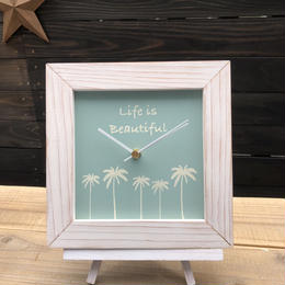 wood clock F〜 life is beautiful 1〜