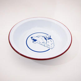 Billy Wolf DOG DISH
