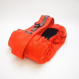 WagWear Messenger Pouch Carrier Orange Size L