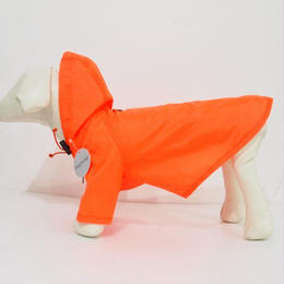 wagwear Nylon Rainbreaker Neon Orange size 8-14