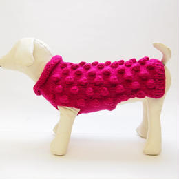 Ware Of The Dog  BOBBLE SWEATER PINK