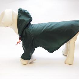 wagwear Nylon Rainbreaker Green size16-18