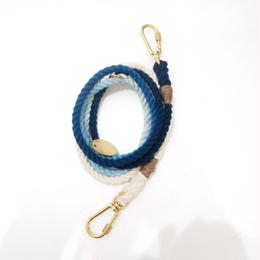 Found My Animal ADJUSTABLE DOG LEASH(INDIGO OMBRE)
