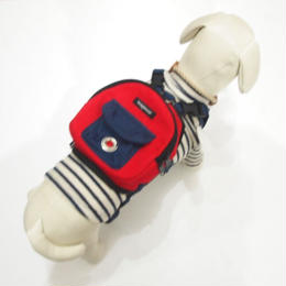 wag wear Canvas Mini Dog Backpack SIZE M