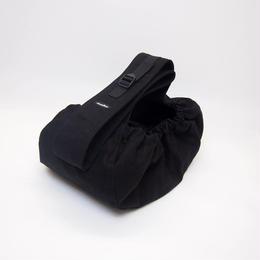 WagWear  Messenger Pouch Carrier Black Size S