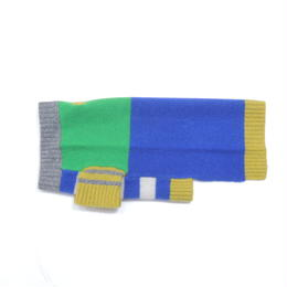 Ware Of The Dog  CRAZY STRIPE GREEN/BLUE