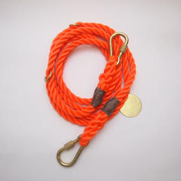 Found My Animal ADJUSTABLE DOG LEASH(ORANGE) new model