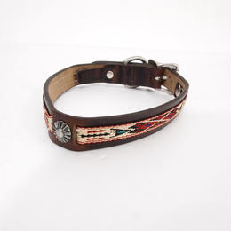 GITLIGOODS THE GO WEST COLLAR BROWN/CREAM
