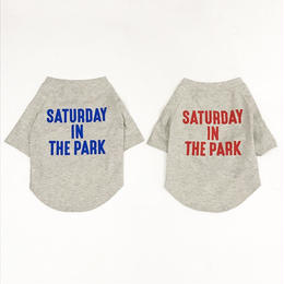 LIFE WITH DOG SHOP saturday in the park T-shirt