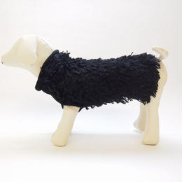 Ware Of The Dog   ALPACA HAIRY SWEATER BLACK