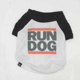 PETHAUS RAGLAN DOG TEE <RUN D.O.G> sz  M〜XXL
