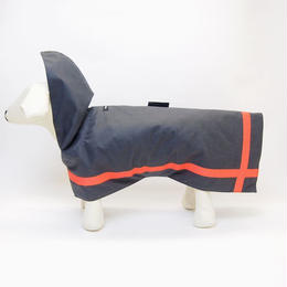 WagWear  Reflective All-Weather Wax Raincoat