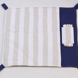 丈夫な帆布の綿入り布団ハンモックLサイズ