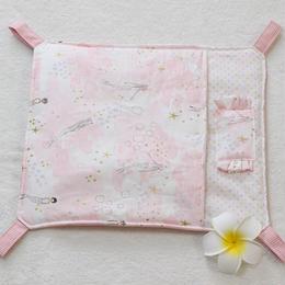 綿入り布団ハンモックMサイズ☆Littlemermaid Pink