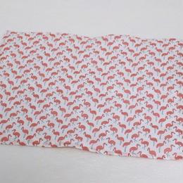 冷感キルトマット小さいサイズ☆フラミンゴ