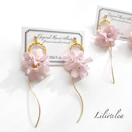 flower  pierce/earring