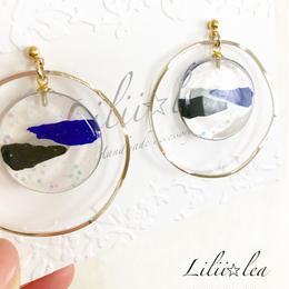 big hoop pierce/earring